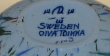 Skål,  Konstkeramik, O Toikka
