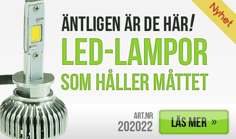LED-lampor som håller måttet