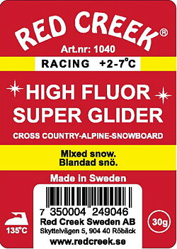 Red Creek Glidvalla HF gul 30 g