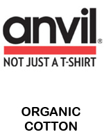 Anvil 100% Organic Cotton