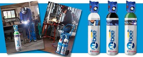 Gas till svetsning, värmning & provtryckning  Otroligt populära gasflaskor från Air Liquide