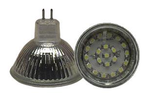 LED Spotlight SMD3528 MR16 Varmvit