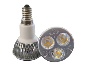 LED Spotlight 3x2W E14 JDR Varmvit