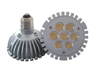 LED Spotlight PAR30 7x1W E27 Varmvit