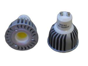 LED Spotlight COB 5W GU10 Varmvit
