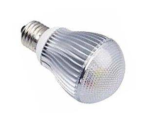 Ledlampa E27 5x1W Varmvit
