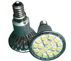 LED Spotlight SMD5050 E14 Varmvit