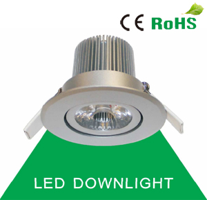 COB Led Downlight Lampa 7W