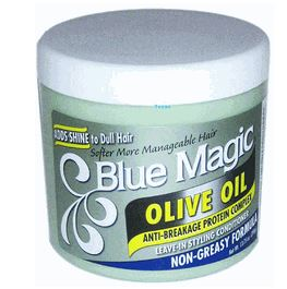 Blue Magic olive oil