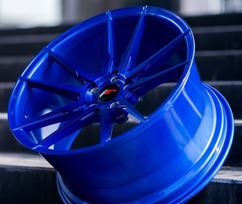 "18"" JAPAN RACING JR21 PLATINUM BLUE"