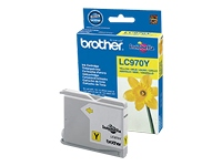 BROTHER LC970Y Ink yellow 300pages for DCP-135c /-150C MFC-235C/-260c