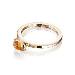 Efva Attling Love Bead Ring - Citrine