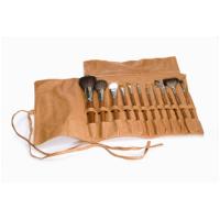 Pensel.kit med läderetui