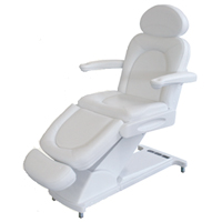 Beauty treatment chair manuell
