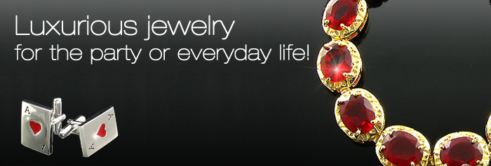 luxury jewelry for the party or everyday life.