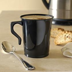 Kaffemuggar. Vit. 10 st