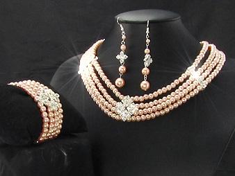 Smycke set. Josephine