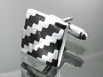 Cufflinks Black and White