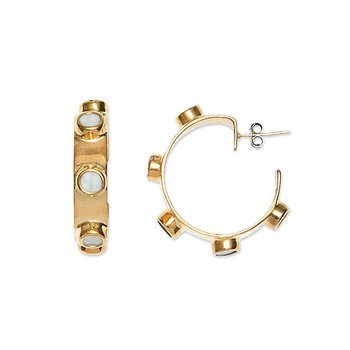 Modernista Golden Hoops