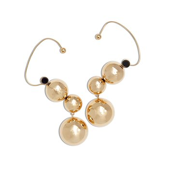Solar System Golden Earrings