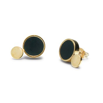 Luna Golden Eclipse Petite Earrings - Åter i lager!
