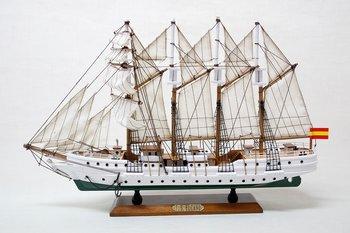 Juan Sebastian Elcano barquentine 57x36 cm