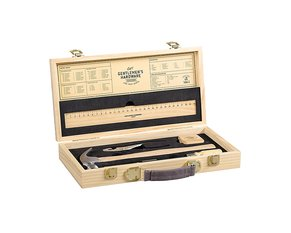 Tool Kit in Wooden Box 180 x 345 x 55mm