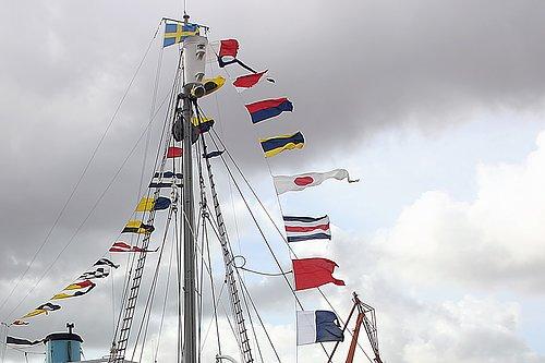 Signalställ & Signalflaggor Funkar hemma som på båten.