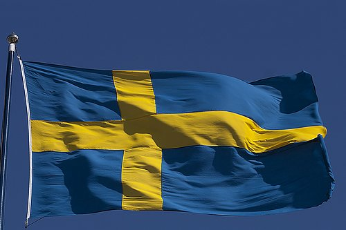 New Swedish Flag? We have them here.