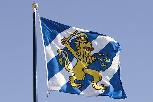 Flagga lokalt.  Här är för Göteborg.