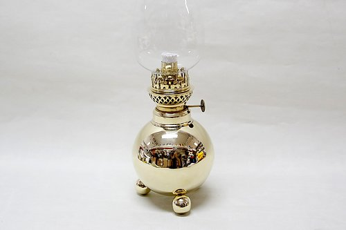 The Ball Oil Lamp  Stylish and classic design.