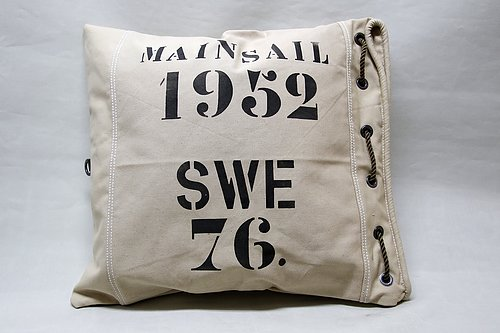 MainSail 1952 cushion  Designad of Oscar Borgström.