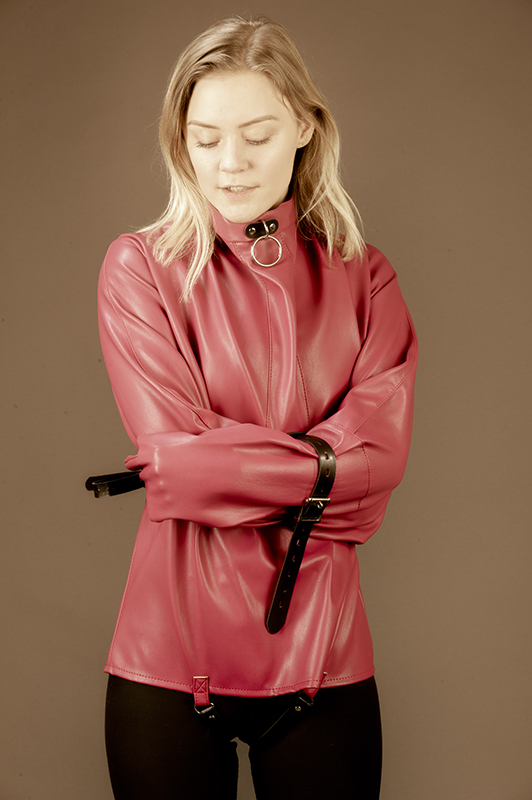 Straitjackets in PU leather