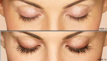 längre ögonfransar naturligt