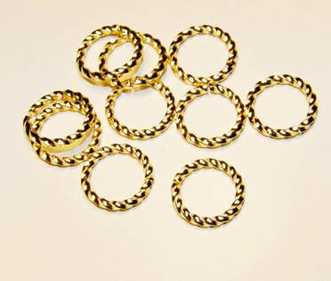 10st - Twisted GP Ring 10mm