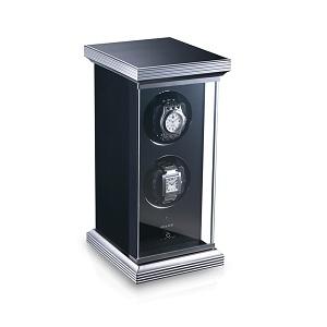 Watch winder - 2 watches - glass finish
