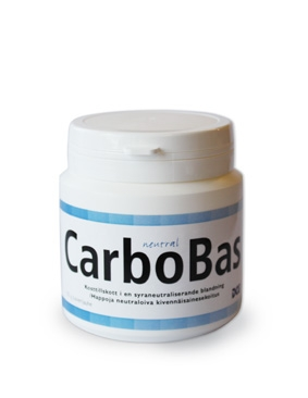 CarboBas , 150 g  pulver, naturell