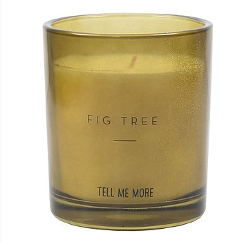 SCENTED CANDLE  FIG TREE
