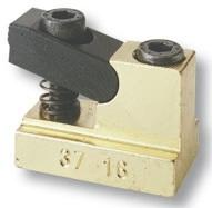 Staffe per scanalature T set  37/12