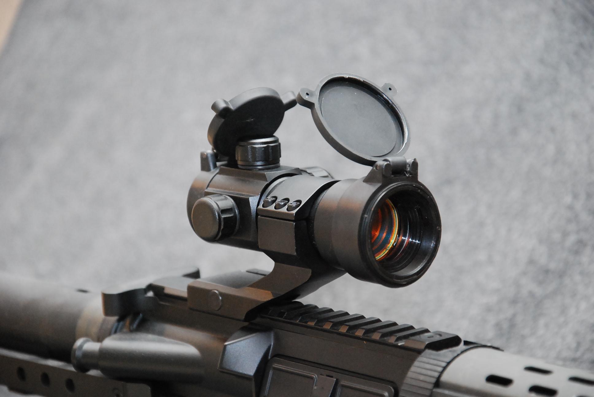 Optik och rödpunktsikten