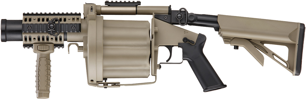 Grenade launchers and accessories