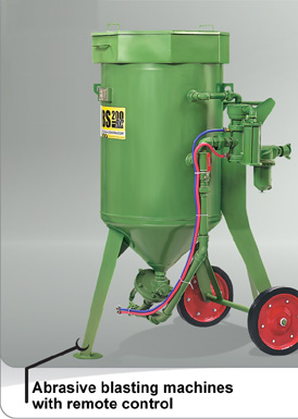 Blästermaskin 200 liter