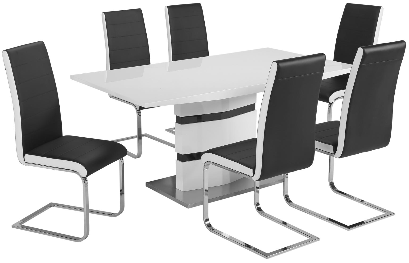 Unika Erdal of Sweden - Mariehäll Matbord inkl. 6st stolar RE-39