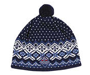 Kaupang Cap - Navy blue & White