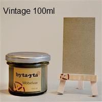 Äppellåda vintage vax, gör det själv kit