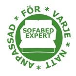 Balder  3-sits futonbäddsoffa Special soft spring och ramöverdrag