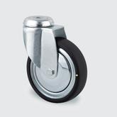 Hjul ESD, 75 mm med bygel utan broms