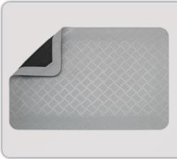 Ståmatta 0,6 m, grå