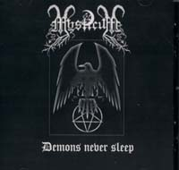 Mysticum - Demons never sleep [CD]