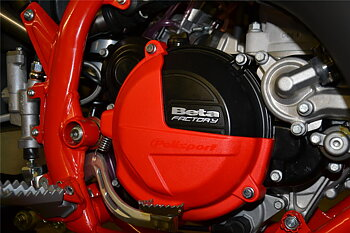 Clutch cover protection RR 2T 18-> RED